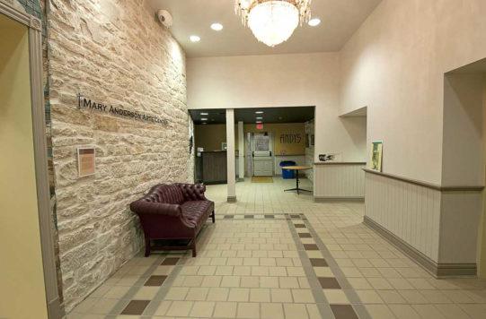 Arts Center Lobby
