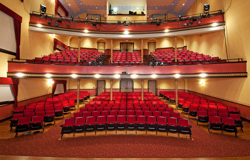 McPherson Opera House Auditorium Rental