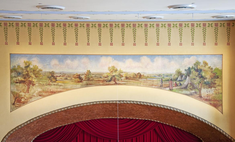McPherson Opera House Mural 1170