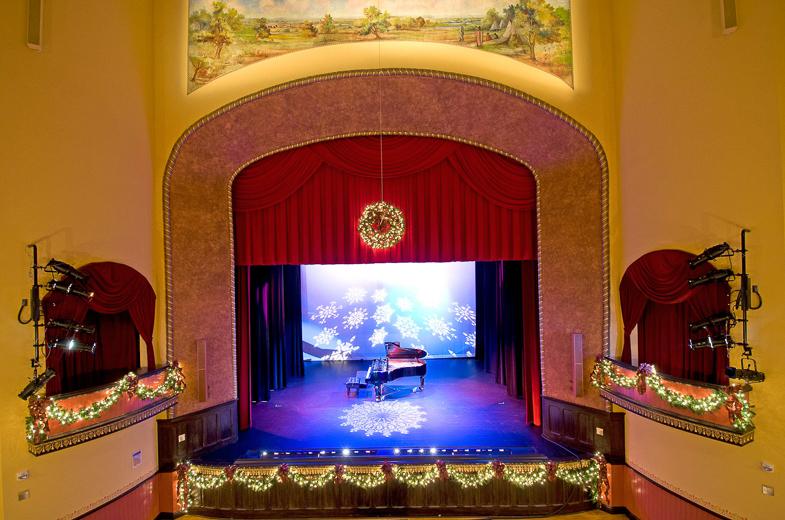 Opera House Auditorium Christmas Rental