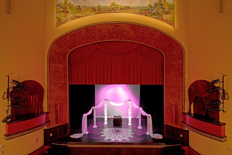 Theatre McPherson Wedding Rental