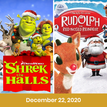 Rudolph the Red-Nosed Reindeer (1964) & Shrek the halls, Double Feature